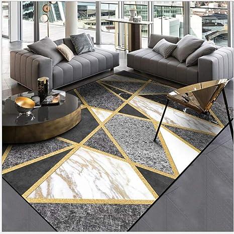 Amazon.com: Carpet Fashion Modern Black and White Gray ...