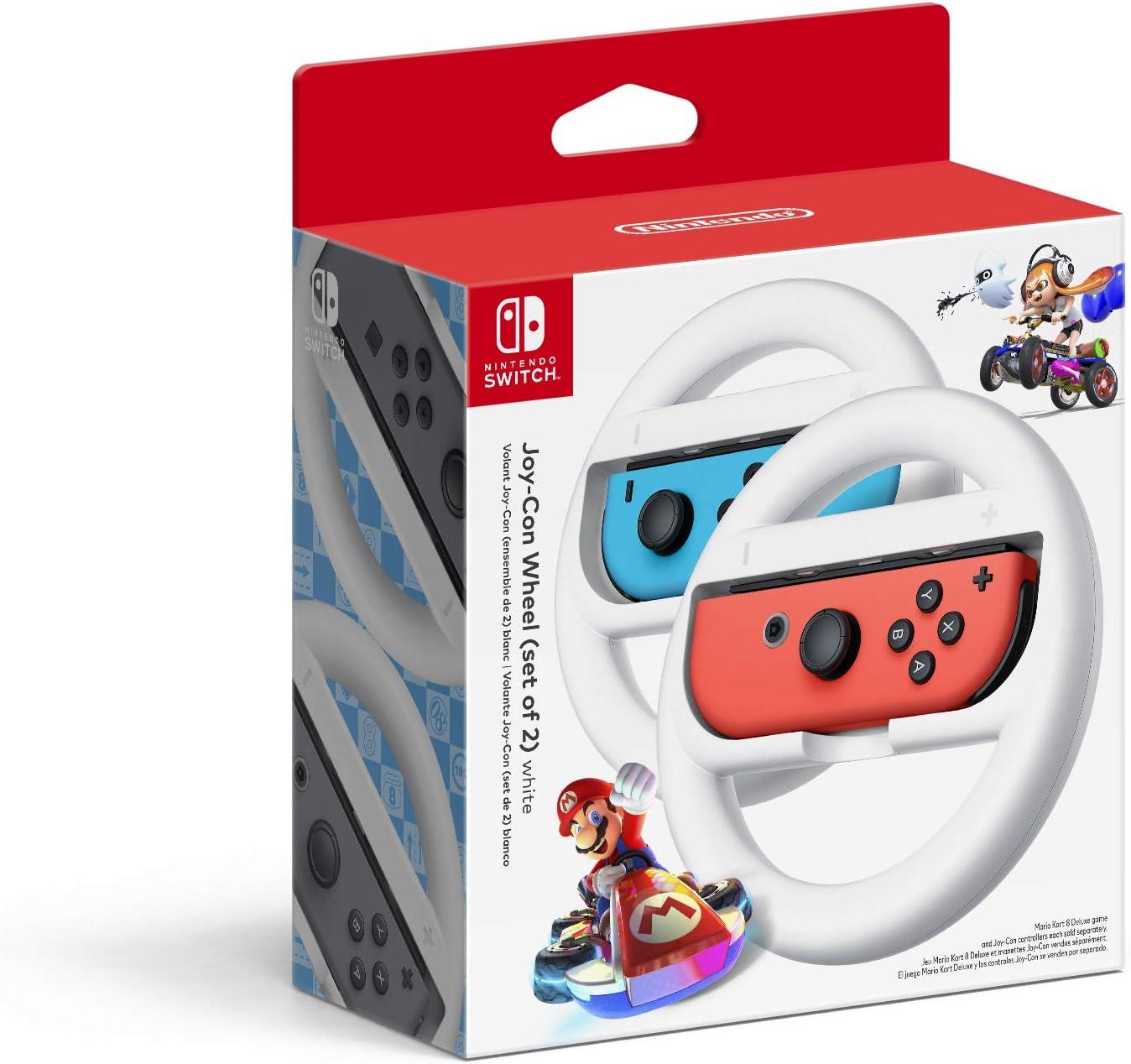 Volantes Nintendo Joy-con Blancos - Nintendo Switch (xmp)