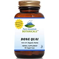 Dong Quai Capsules - 90 Kosher Vegetarian Caps - Now with 500mg Organic Dong Quai Root