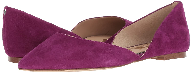 Sam Edelman Women's Rodney Ballet Flat B07BRB5W3N 6 W US|Purple Plum