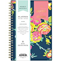 """Day Designer for Blue Sky 2020-2021 Academic Year Weekly & Monthly Planner, Flexible Cover, Twin-Wire Binding, 5"""" x 8…"""