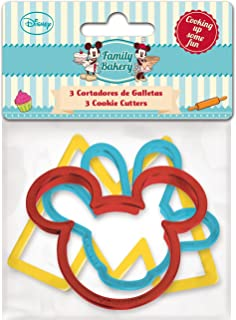 Stor Family Bakery - Set de 3 cortadores de galletas, en bolsa