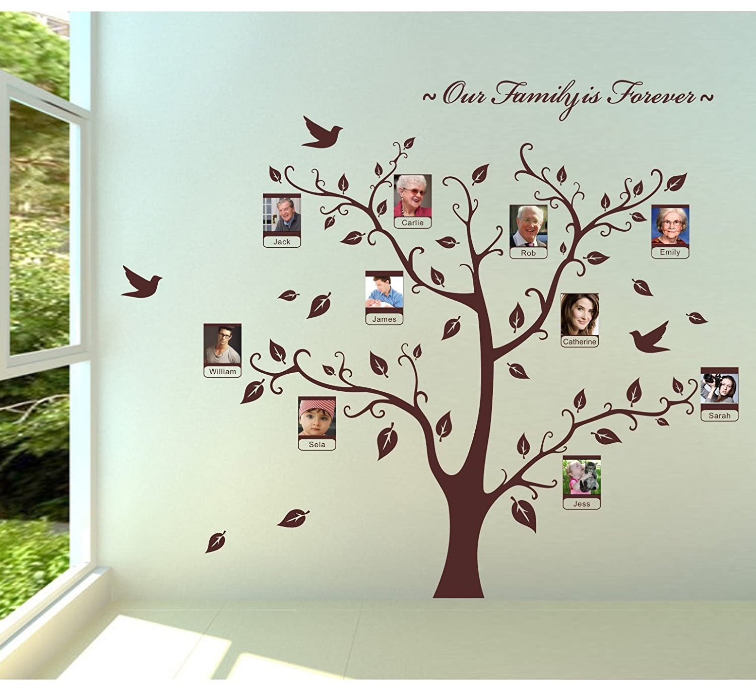 Amazoncom Loving You Family Photo Frame Picture Frame Tree Wall
