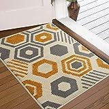 "Color&Geometry Indoor Doormat Indoor Outdoor 24""x36"" Mat Waterproof, Non Slip Washable Quickly Absorb Moisture and Resist Dirt Rugs for Entrance"