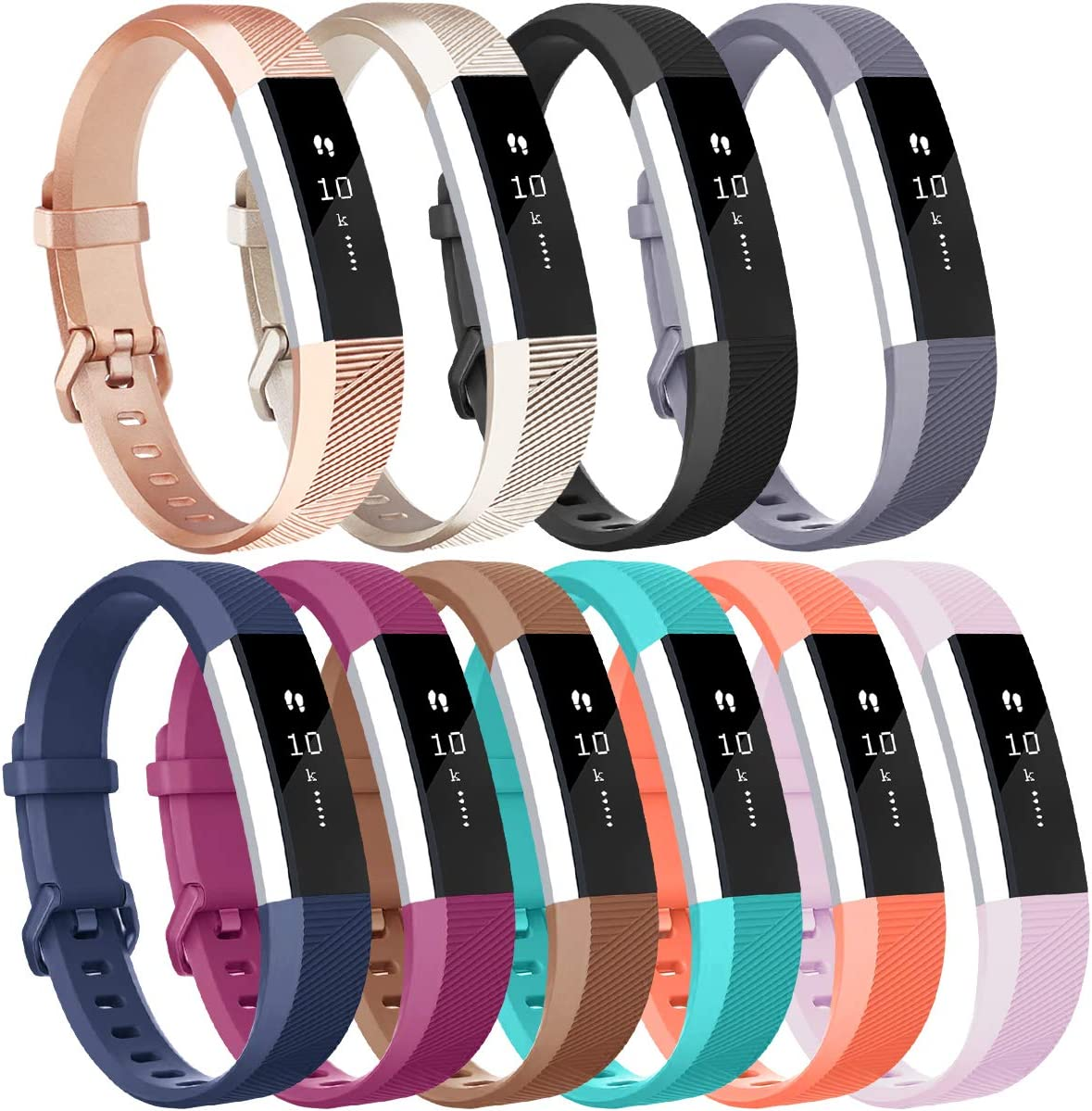 Replacement Wristband Band Strap Bracelet For Fitbit Alta HR Sport High Quality
