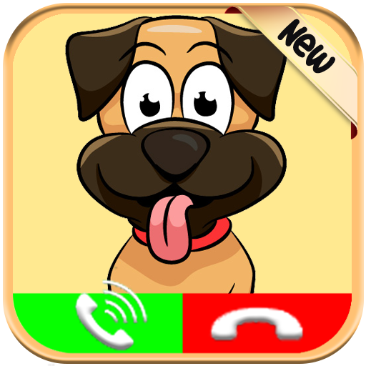 Live Call From Cartoon Dog For Kids   Free Fake Phone Call Id Pro   Prank 2018