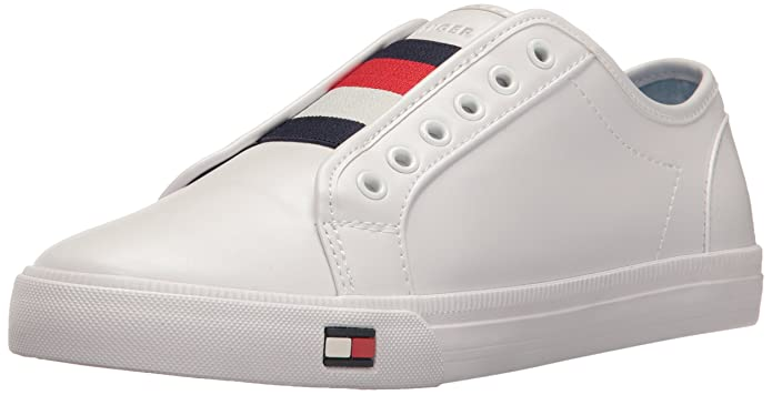 Tommy Hilfiger Women's Anni, White, 6.5 M US