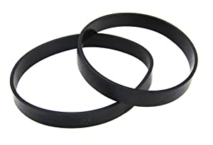 Eureka #E0205 Powerspeed Lightweight & Pro Swivel Plus Vacuum Belts 2 Pack