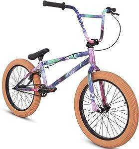 20 Pulgadas BMX Collective C1 Pro Park Freestyle Bike Bicicleta 16/9 Park Bike Negro, Raw, Rojo o Galaxy, Galaxia: Amazon.es: Deportes y aire libre