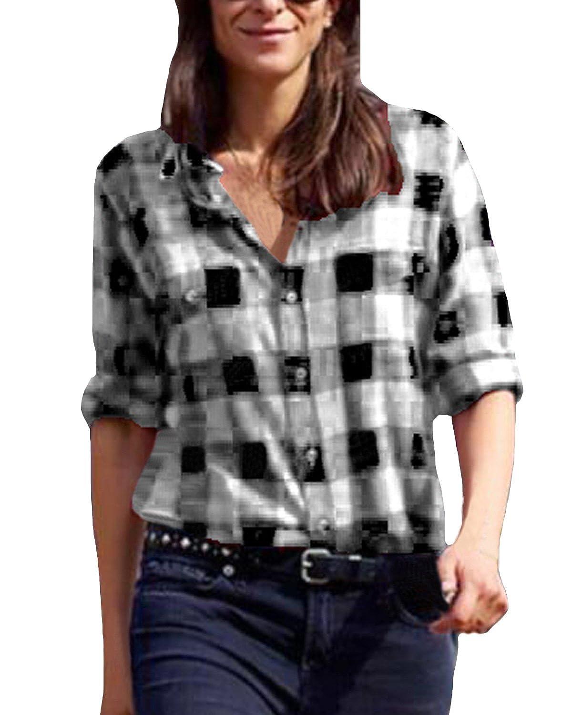 5fd5153bf175f Top 10 wholesale Buffalo Check Shirt - Chinabrands.com