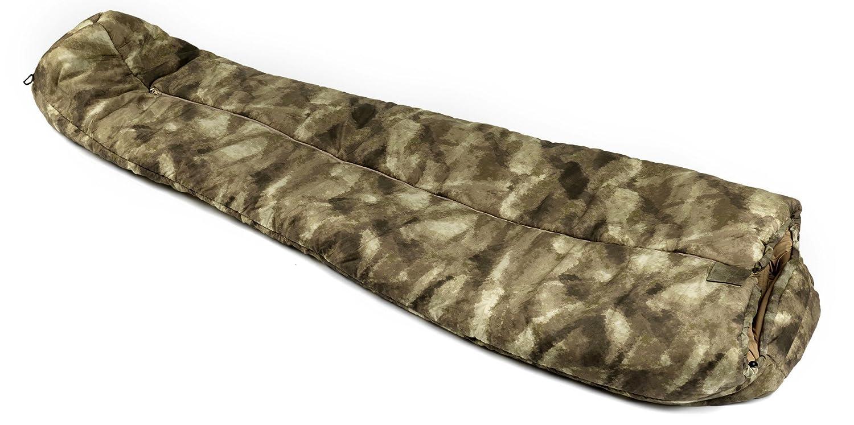 Snugpak(スナグパック) 寝袋 ANTARCTICA RE A-TACS Camo [最低使用温度-50度] B00D1CMH3C