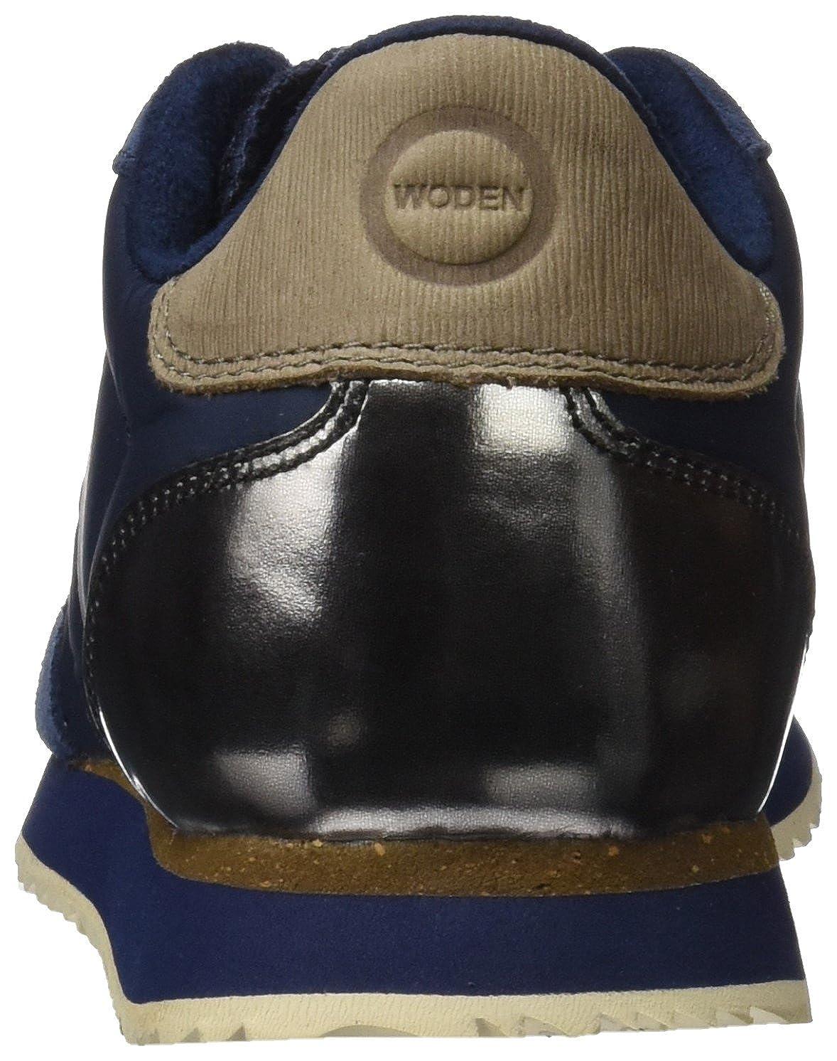 Woden Nora Damen Nora Woden Ii Sneaker, Rosa Blau (Navy 010) c4b050
