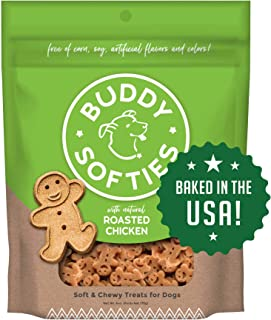 product image for Buddy Biscuits, Soft & Chewy Treats for Small & Large Dogs, Made in USA Only, Training or Snack Size (Packaging May Vary)
