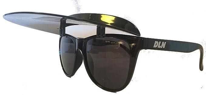 d035367e85 Amazon.com  Visor Shades - Black Frame   Visor  Clothing