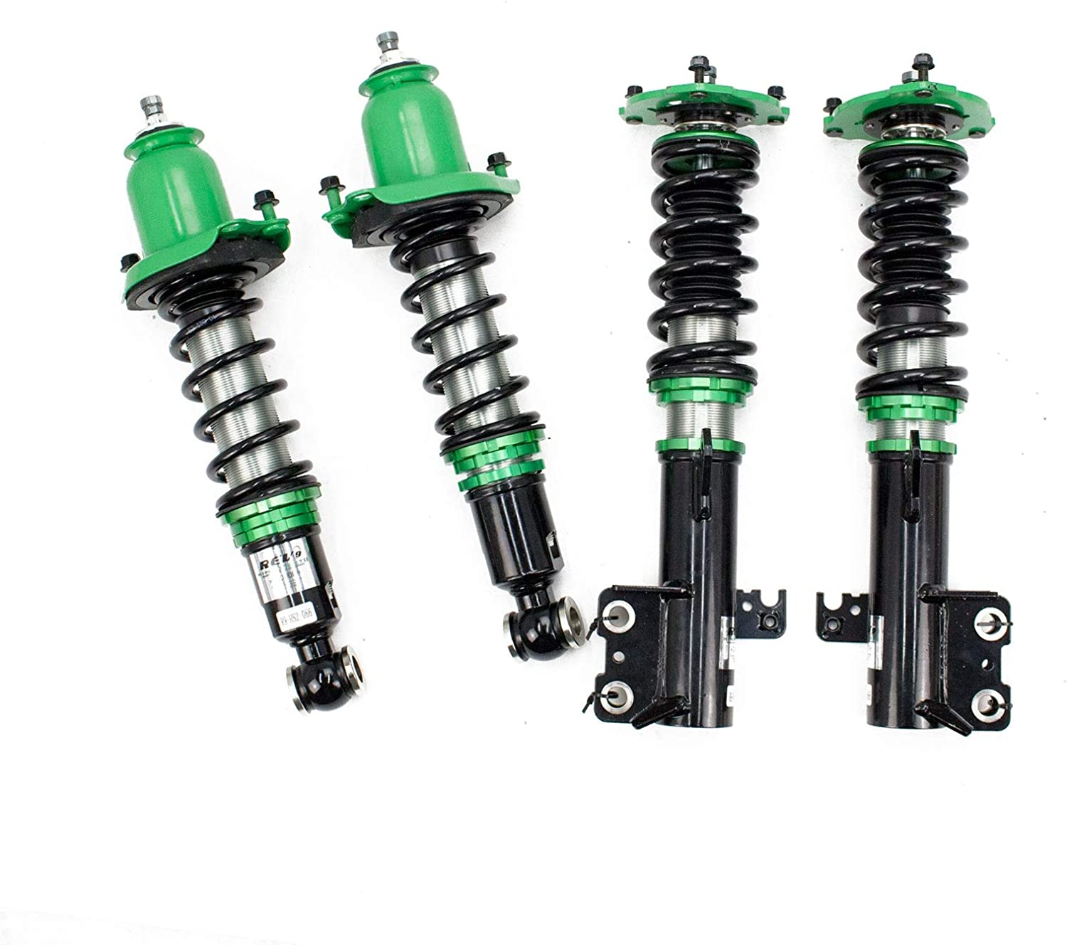 Ride Height Adjustable E120//E130 32 Damping Level Adjustment Rev9 R9-HS2-066/_1 compatible with Toyota Corolla 2003-08 Hyper-Street II Coilovers Lowering Kit