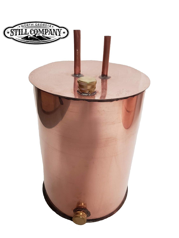 Moonshine Whiskey Still 3 Gallon Thumper Keg with 1/2 OD Tubing by North Georgia Still Company
