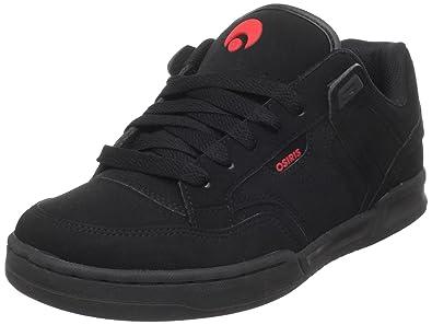 74ffe57acfe Osiris Men's Lennix Skate Shoe,Black/Black/Red,6.5 ...
