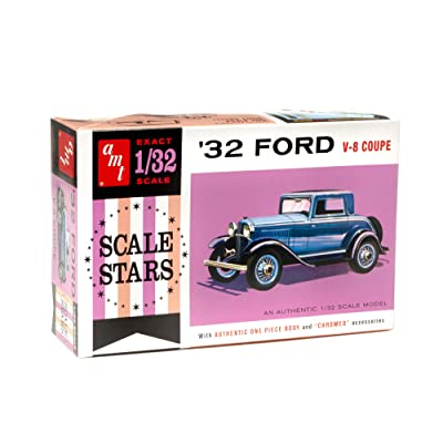 AMT 1932 Ford Scale StarsModel Kit Replica - 1/32nd Scale Slot Car Body: Toys & Games