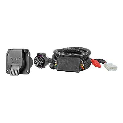 CURT 56421 Vehicle-Side Custom RV Blade 7-Pin Trailer Wiring Harness, Select Honda Pilot, Passport: Automotive