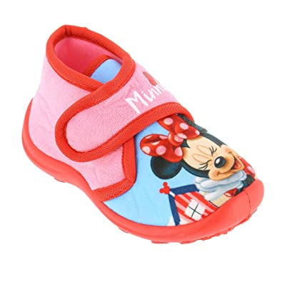 Minnie - Chaussons Minnie avec scratch - (Rose - 26) 5D3iCAxL6R