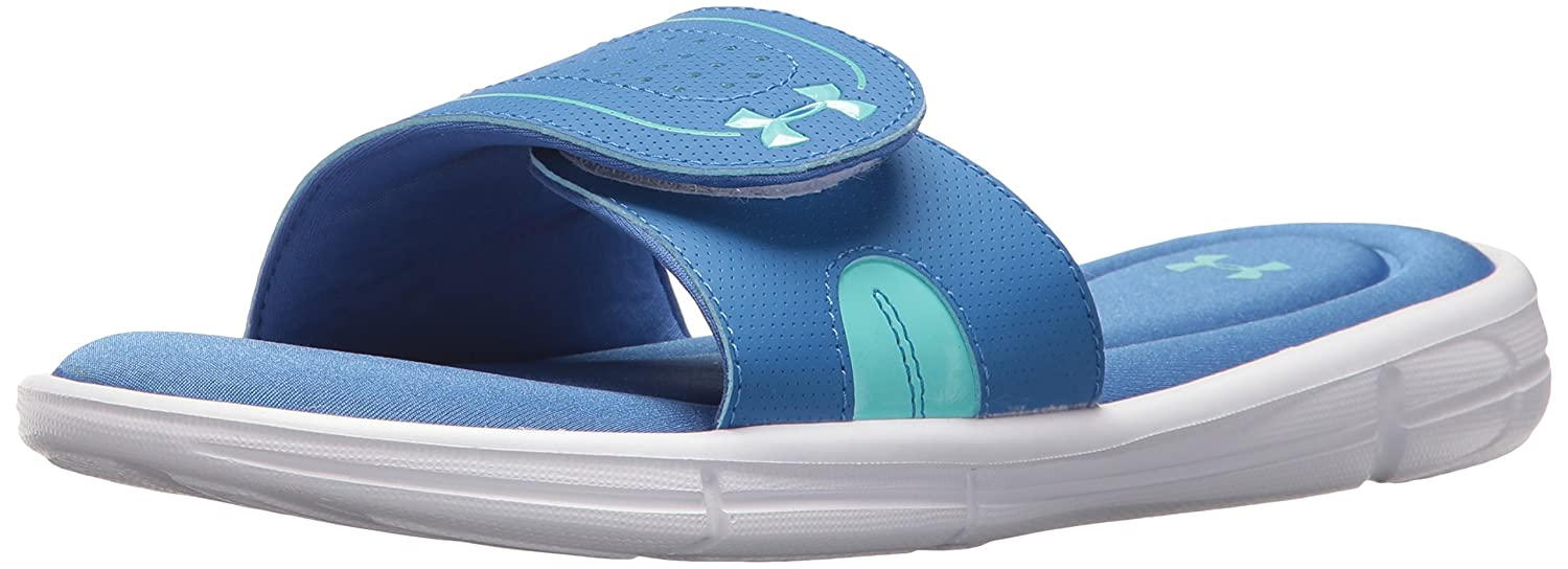 Under Armour Women's Ignite VII Slide Sandal B0728BYC7M 8 M US|Tropical Tide (301)/Mediterranean