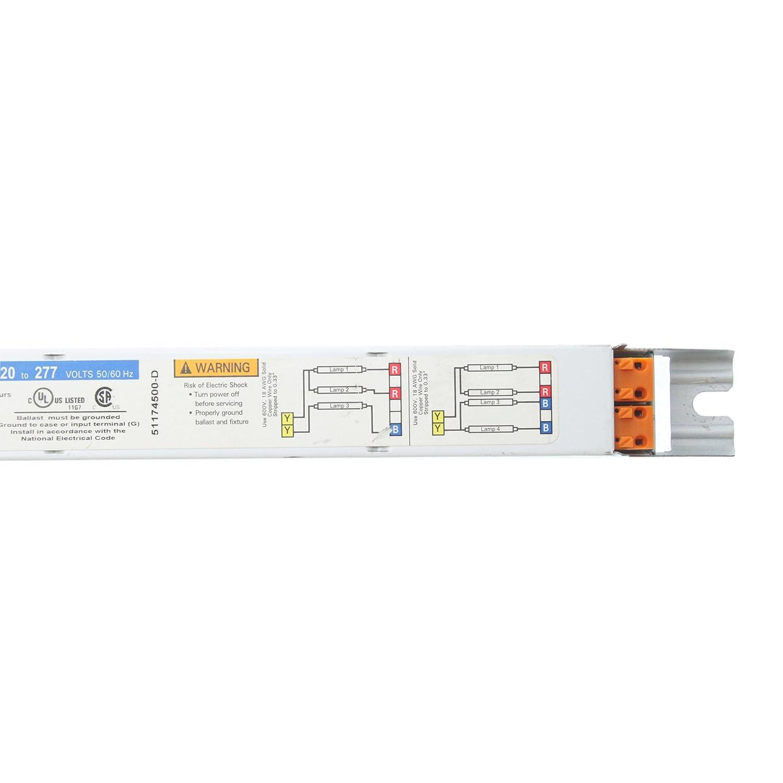 4-Lamp F32T8 120//277V Universal B432IUNV-D Triad Fluorescent Ballast 32W T8