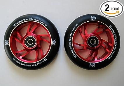 Amazon.com: DIS 110 mm Aterrizaje suave metal core Wheels ...