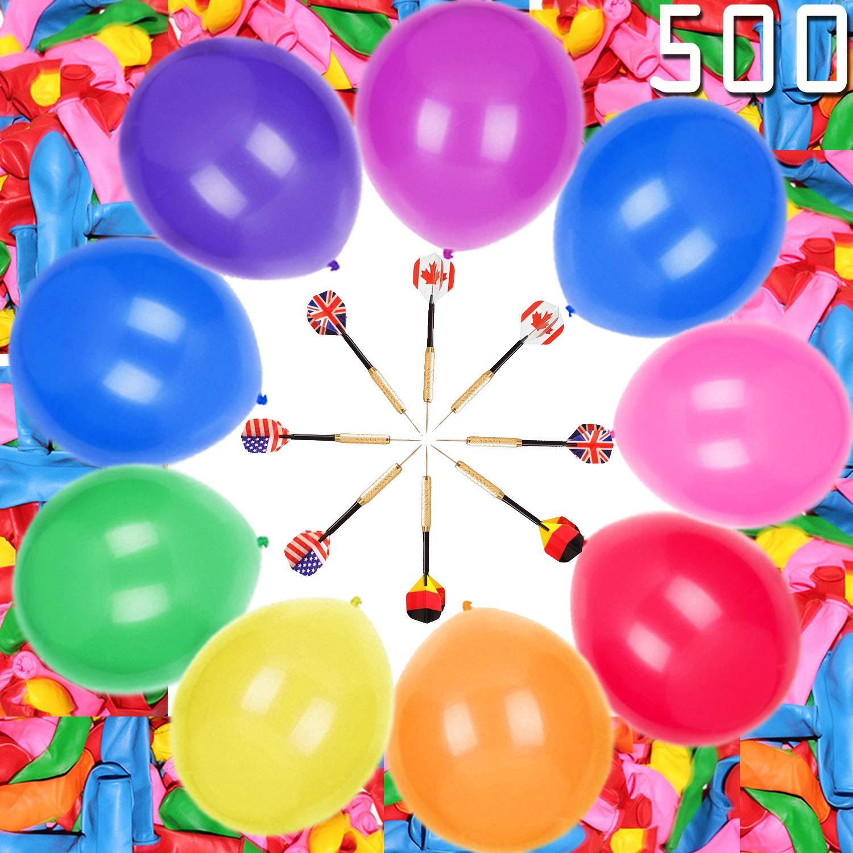 100pcs Balloon Animal Kit 260q Balloons Magic Balloons for Birthday Party Decorations Long Balloons For Balloon Animals Twisting Balloons