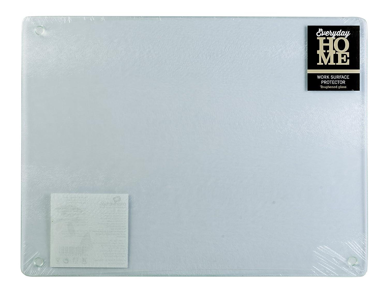 Everyday Home Glass Worktop Saver, 40x30cm - Transparent: Amazon.co ...