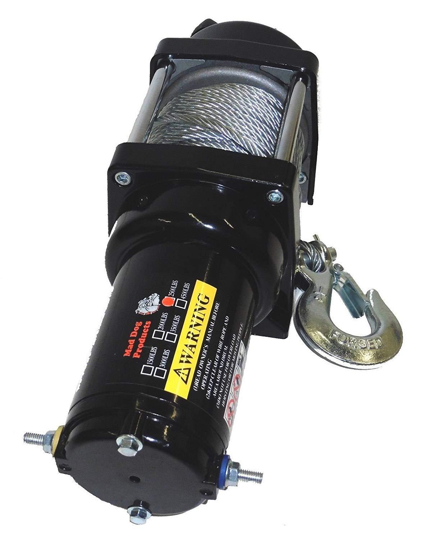 3500lb Mad Dog Winch Mount Combo Polaris-ATV 10-2018 Sportsman 570 850 Touring
