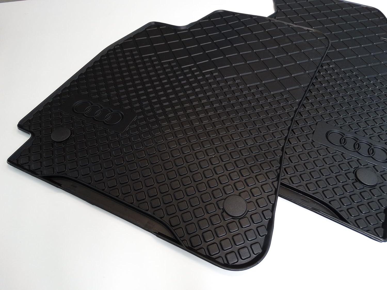 GENUINE AUDI Rubber Mats Rubber Floor Mats Front Audi A10 10D ... | genuine audi a4 car mats