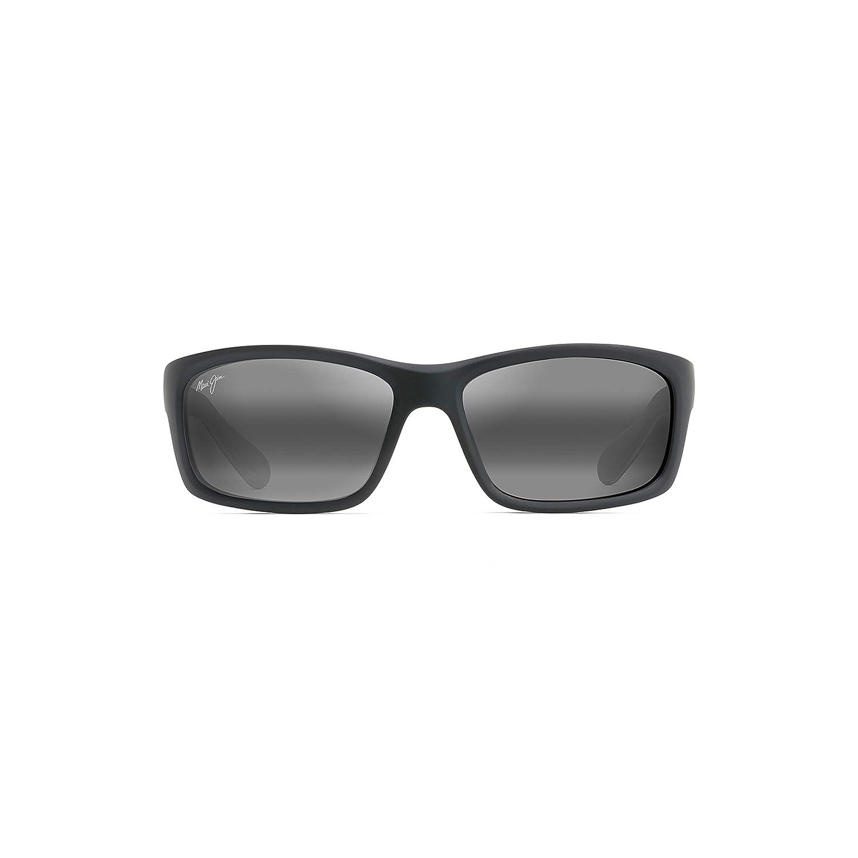 with Patented PolarizedPlus2 Lens Technology Wrap Frame Kanaio Coast 766 Maui Jim Sunglasses Polarized Lenses