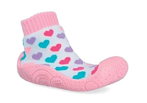 87a748b14 Calcetines con Suela de Goma para niñas. Calcetines para Estar en casa (23)