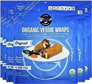 product image for WrawP Original Mini Veggie Wraps 8 Pack Raw Organic Original Mini Veggie Wraps Bulk (8 Pack)   Wheat-Free Gluten Free Paleo Wraps Non-GMO Vegan Friendly Plant-Based Made in the USA