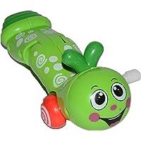 Vibgyor Vibes Wind Up Crawling Funny Caterpillar (Random Colour Will be Sent)