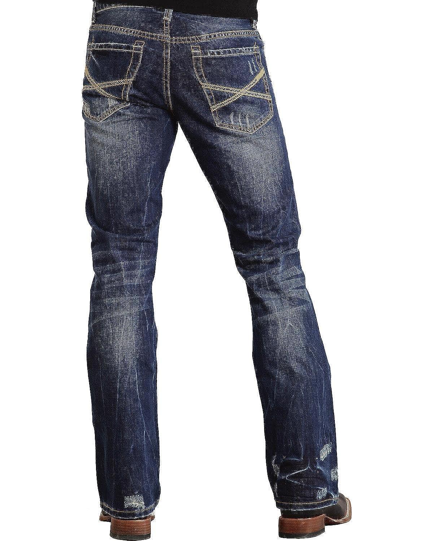 Stetson PANTS メンズ B00EMHPGTW 28W x 36L|ブルー ブルー 28W x 36L