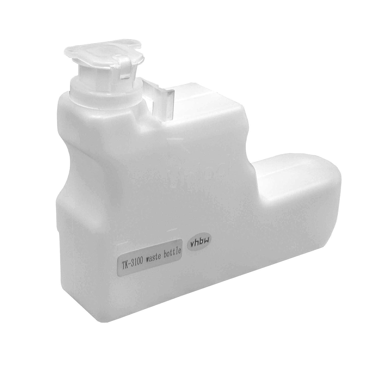vhbw Contenedor de tóner Residual para impresoras láser Kyocera ...