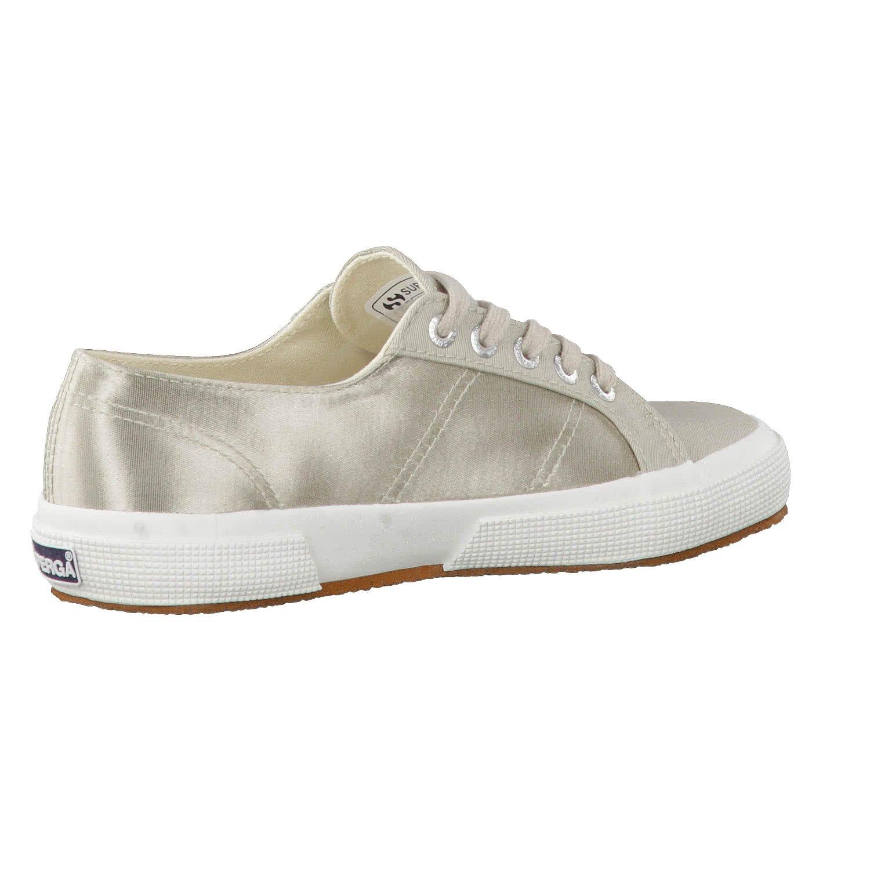 Superga beige Damen 2750 Satinw Sneaker beige Superga 436d41