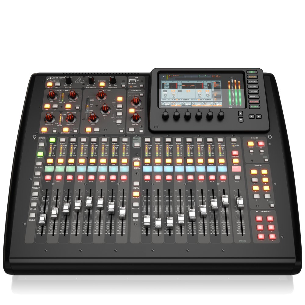 Amazon com: BEHRINGER, X-32 COMPACT 40-Input 25-Bus Digital
