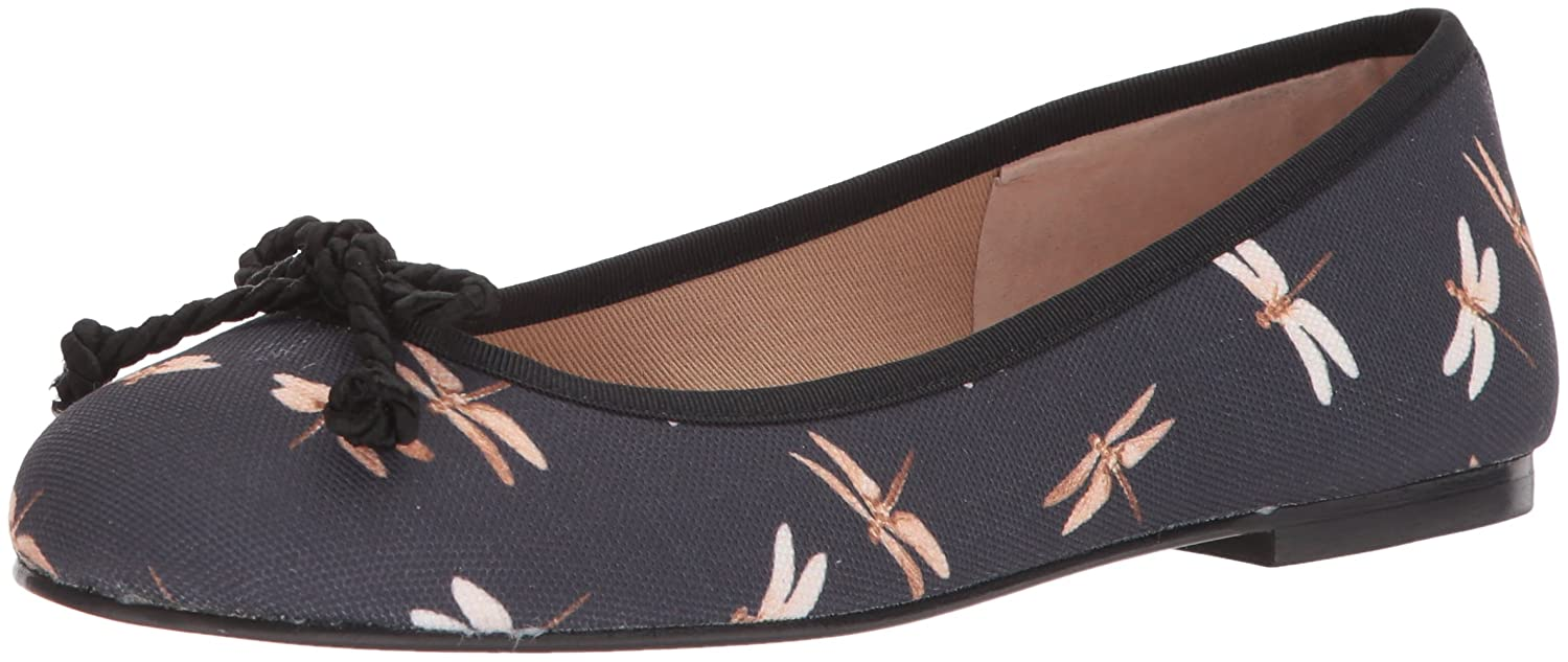 French Sole FS/NY Women's Bonfire Ballet Flat B0765J983B 10.5 B(M) US|Black