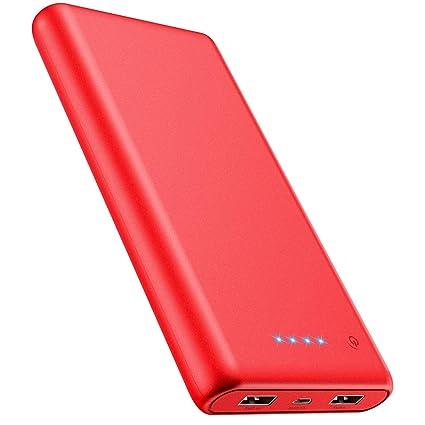 Amazon.com: Cargador portátil de batería externa de alta ...