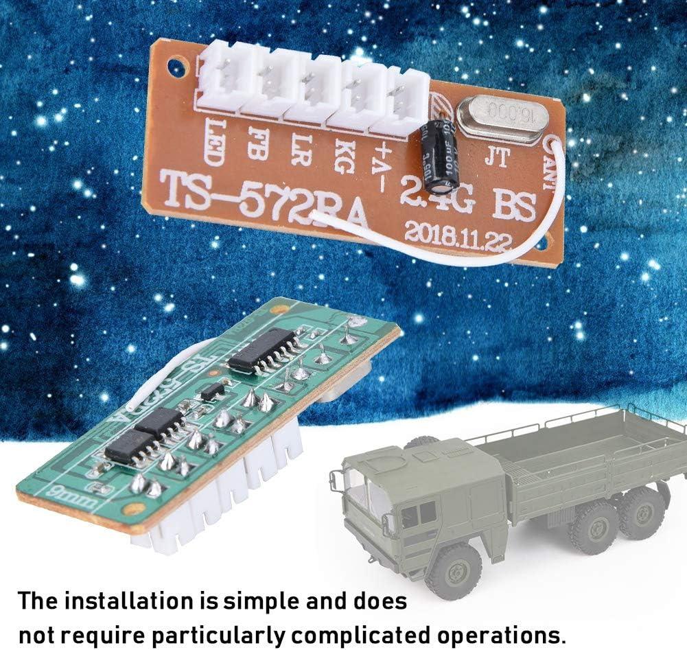 Dilwe RC Integrated Circuit Board RC Car Plastic Integrated Circuit Board Compatible with MN-35 MN-66 B-14 B-24 Q62 Q65 MN-90