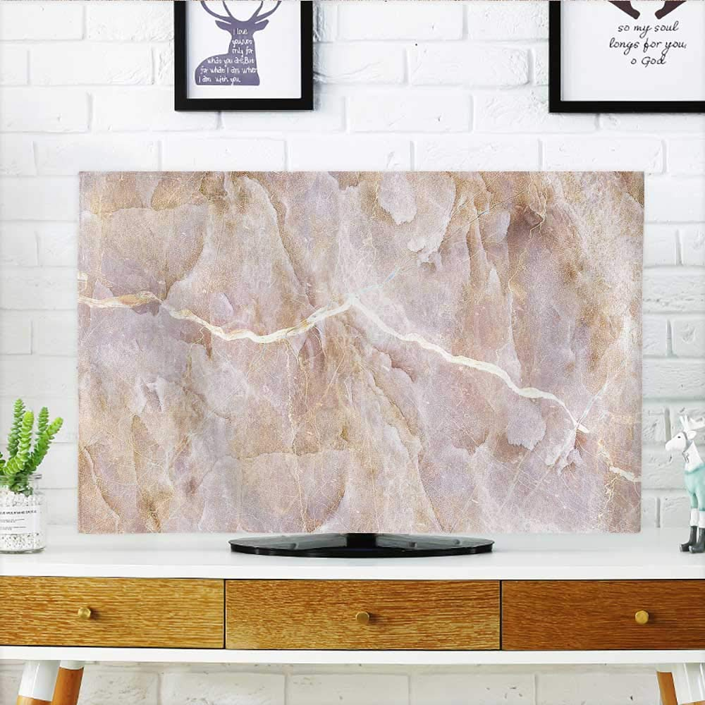 Analisahome Television Protector Marble Tiles Design Floor Tiles Design Television Protector W30 x H50 INCH/TV 52''