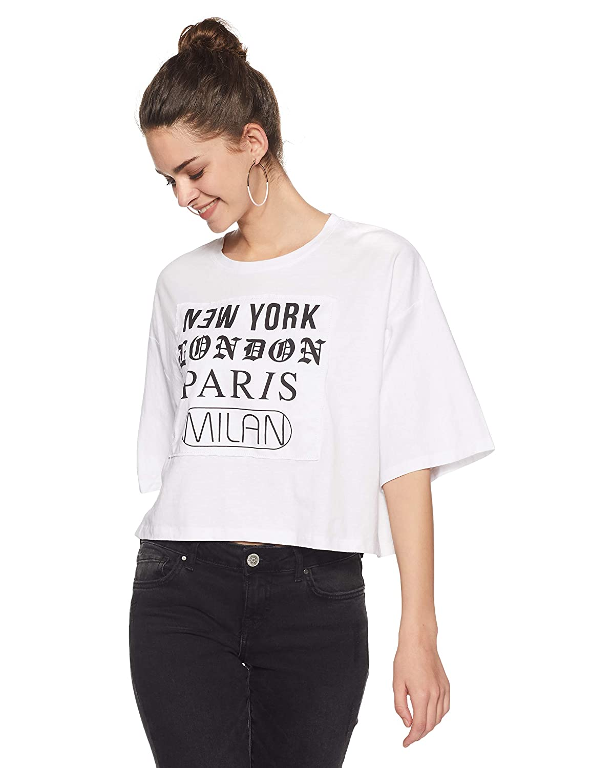 eeda853f790 Forever 21 Women s City Graphics Tee Logo 228155