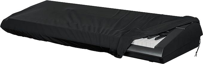 GATOR GKC-1540 - Funda antipolvo para teclado, color negro, 61-76 teclas