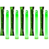 12 Ultra Bright Glow Sticks - Emergency Light Sticks for Camping Accessories, Parties, Hurricane Supplies, Earthquake…
