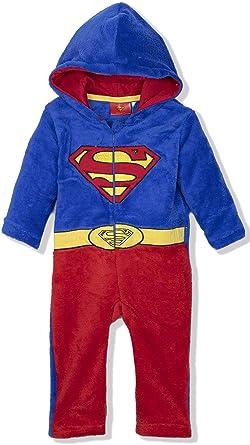 8cfb1a1847a7 DC Comics Superman Batman Baby Toddlers Boys Onesie Jumpsuit Romper ...