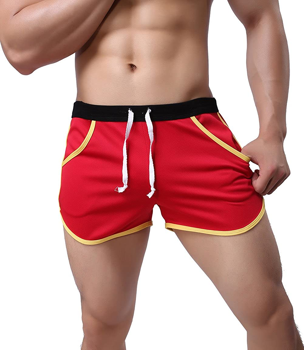 XARAZA Men's Dry Fit Athletic Shorts Beach Short Pants with Pockets