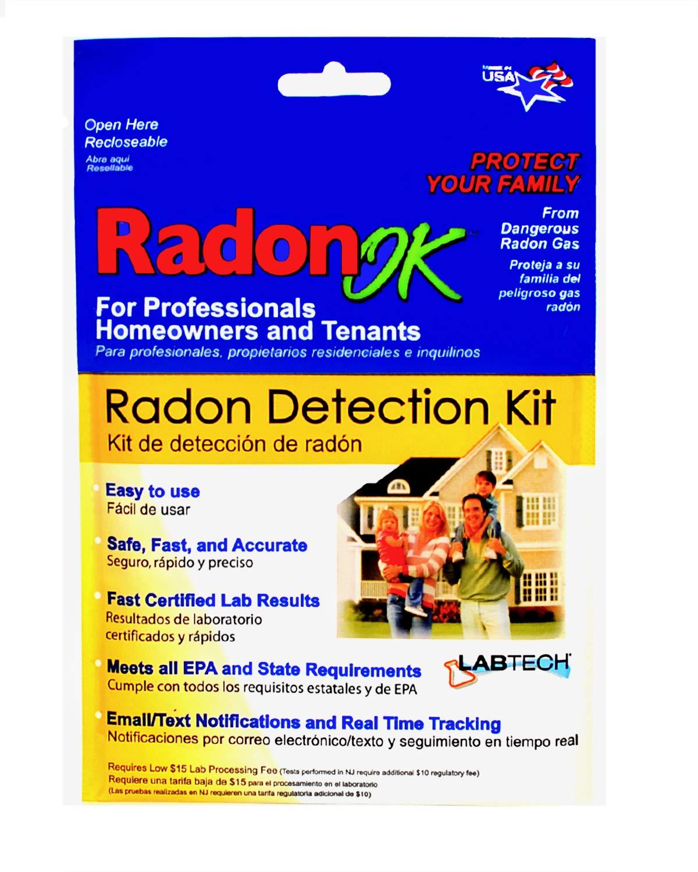 Amazon.com: LabTech LT5110 Radon Test Kit: Home Improvement