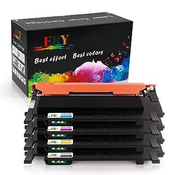 EBY Compatible Samsung CLT-404S 404S CLT-P404C Cartuchos de tóner ...